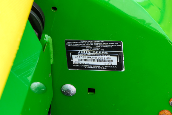 2017 John Deere 652R-15