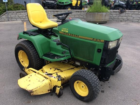 John Deere 445 >> 1994 John Deere 445 Lawn Garden Tractors John Deere Machinefinder