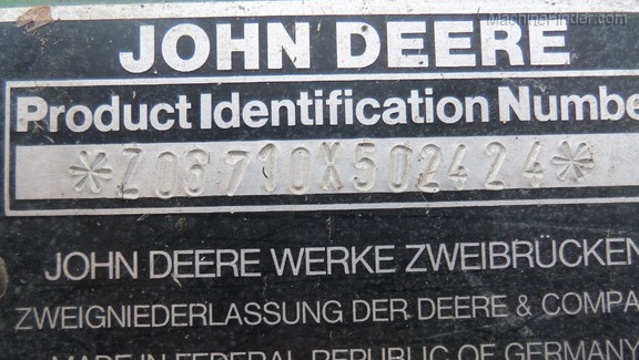 1997 John Deere 6710
