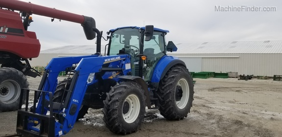 2018 New Holland T5.120 Image 4