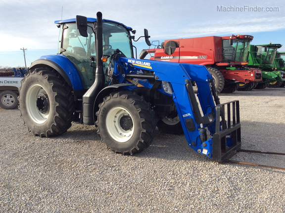 2018 New Holland T5.120 Image 1
