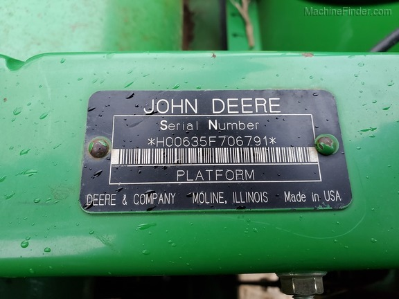 Photo of 2004 John Deere 635F