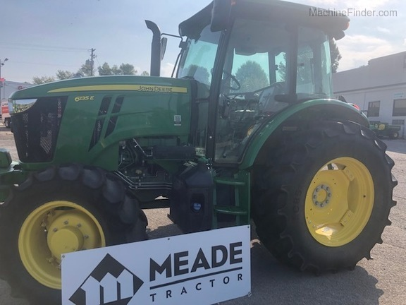 2018 John Deere 6135e - Utility Tractors