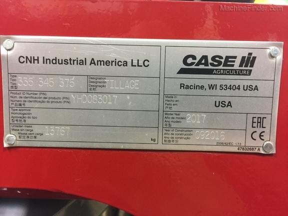 2017 Case IH 335