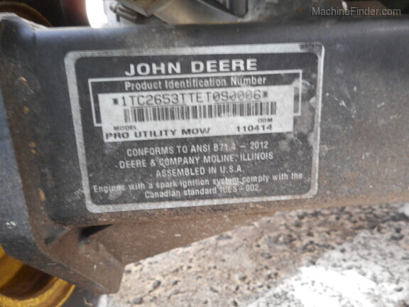 Pre-Owned John Deere 2653B in Boynton Beach, FL Photo 9
