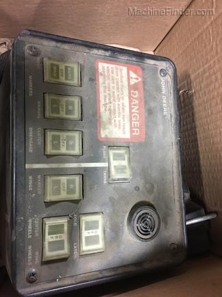 John Deere planter control console box