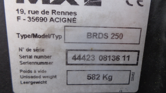 MX BRDS 250