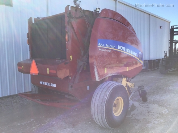 2018 New Holland Rollbelt 560 Image 4