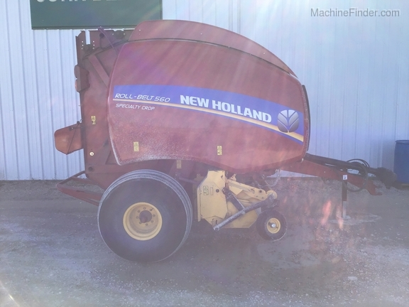 2018 New Holland Rollbelt 560 Image 9