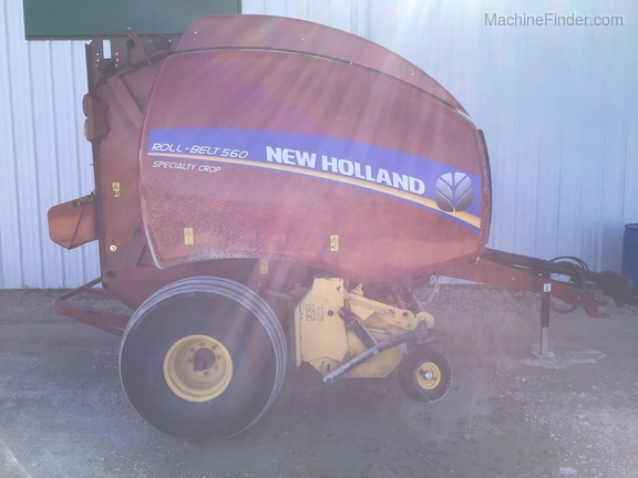 2018 New Holland Rollbelt 560 Image 10