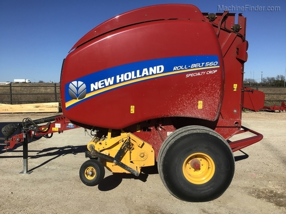 2018 New Holland Rollbelt 560 Image 1