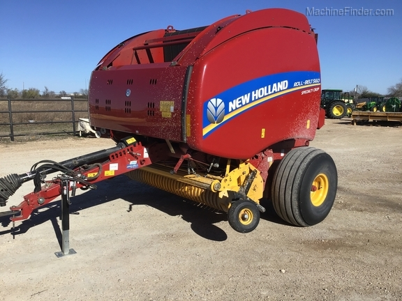 2018 New Holland Rollbelt 560 Image 28