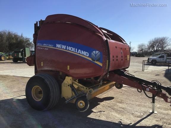2018 New Holland Rollbelt 560 Image 33