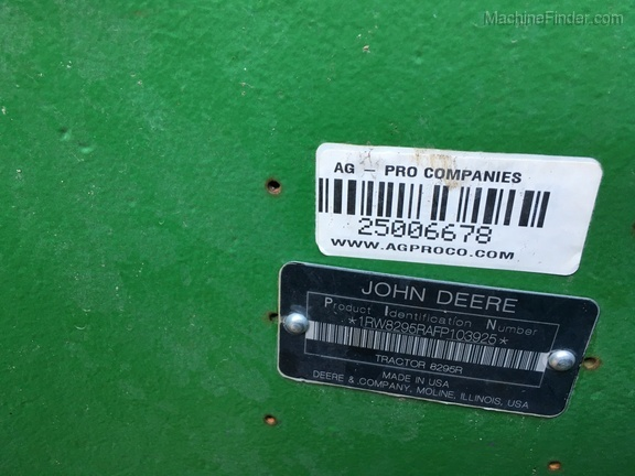 2015 John Deere 8295R
