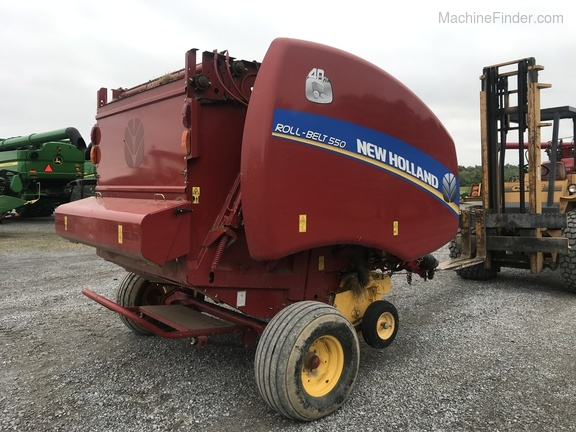 Photo of 2015 New Holland Rollbelt 550