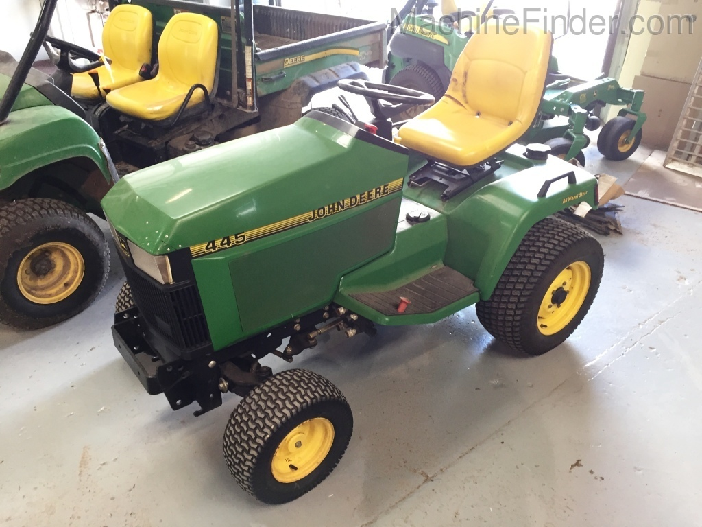 John Deere 445 >> 1998 John Deere 445 Lawn Garden Tractors John Deere Machinefinder