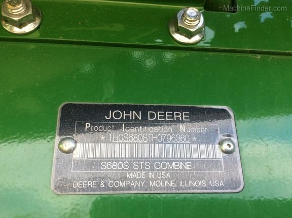 2017 John Deere S680
