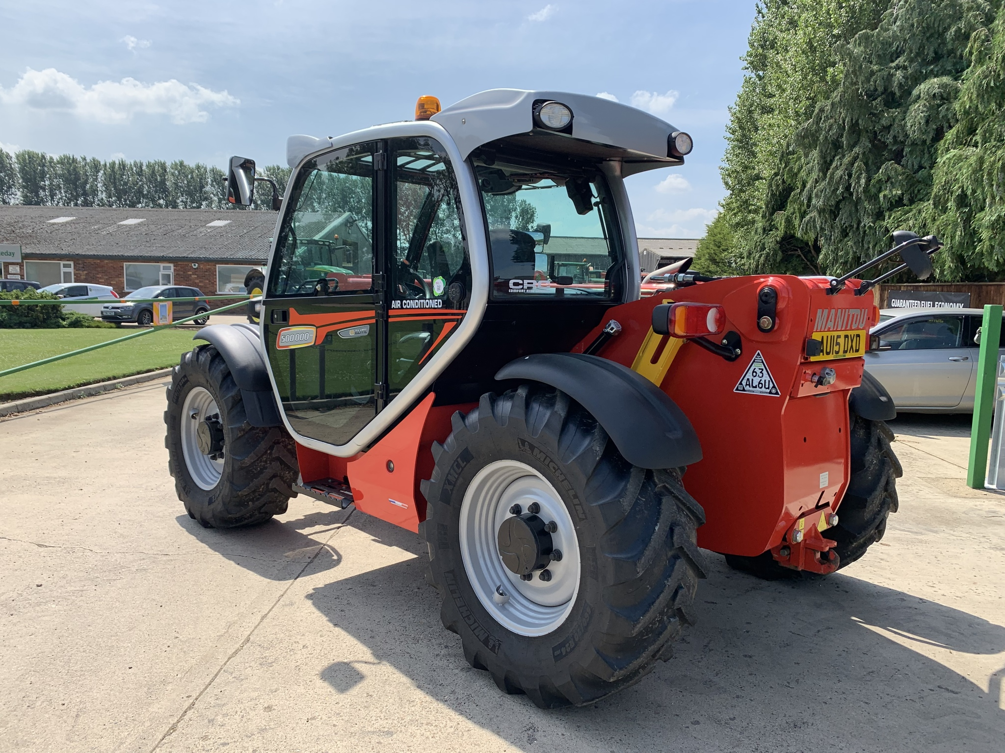 Used Manitou MLT 735 elite Limited Edition Only 933hrs! Tractors