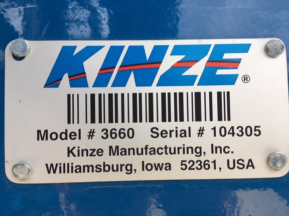 Photo of 2014 Kinze 3660