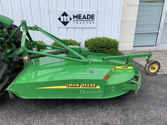 John Deere MX7 - Rotary Cutters: Medium-Duty - Christiansburg, VA