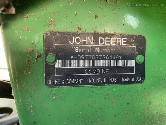 Photo of 2008 John Deere 9770 STS