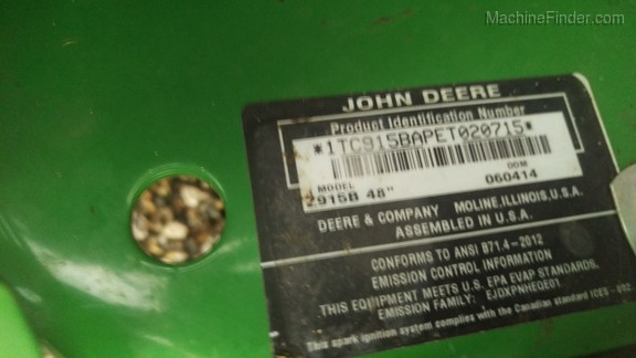 John Deere Z915B