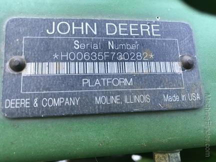 Photo of 2009 John Deere 635F