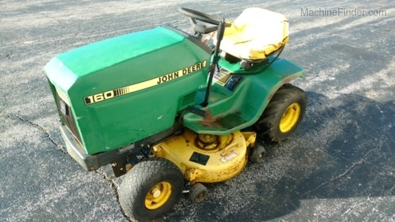 30 John Deere 160 Lawn Tractor Parts Diagram