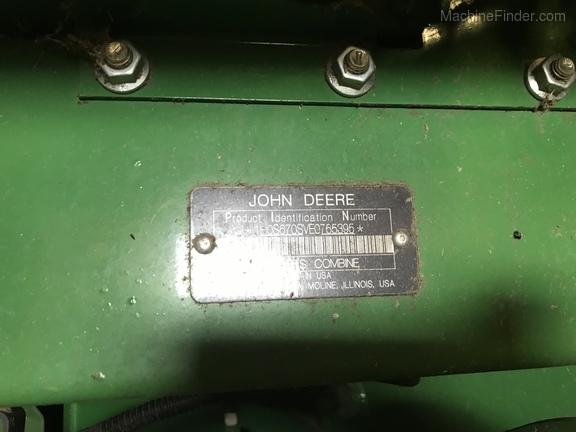 Photo of 2014 John Deere S670