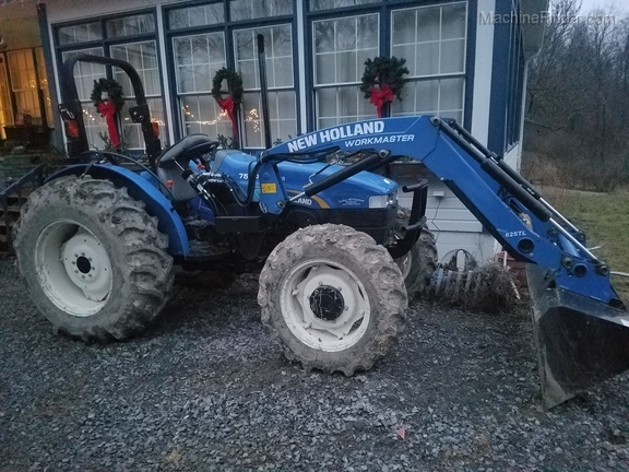 2012 New Holland Workmaster 75