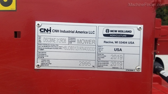 2019 New Holland 312 Image 21