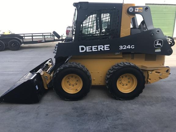 John Deere Skid Steer >> 2018 John Deere 324g Skid Steer Loaders John Deere Machinefinder