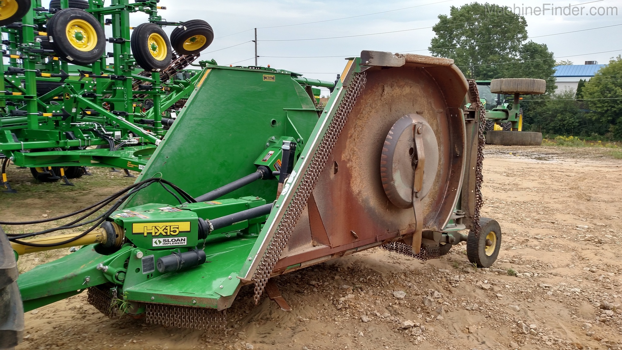 John Deere HX15 Rotary Cutters: Heavy-Duty for Sale | [97990]