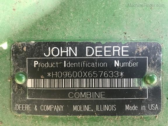Photo of 1994 John Deere 9600