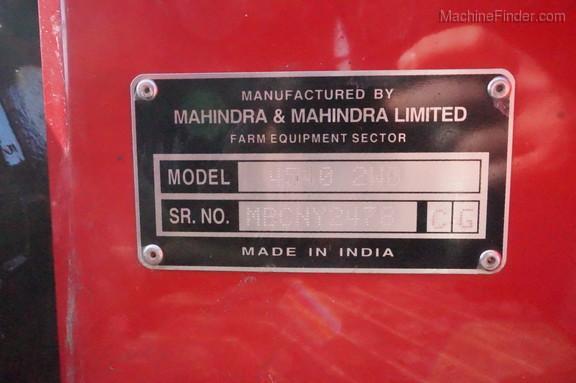 2016 Mahindra 4540 - Compact Utility Tractors - Ada