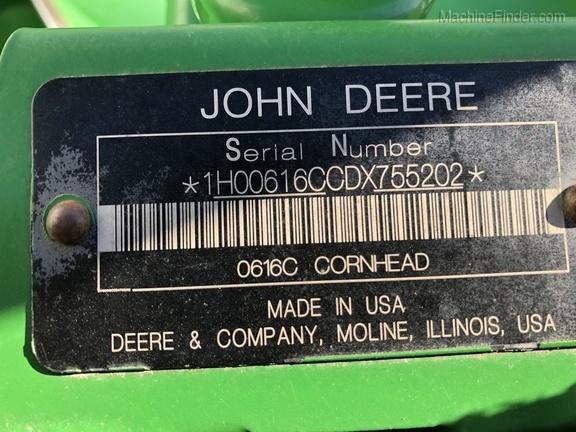 Photo of 2013 John Deere 616C