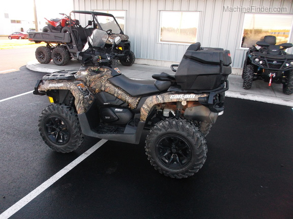2017 Can-Am Outlander max 850XT Image 3