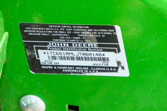 2018 John Deere 661R-18