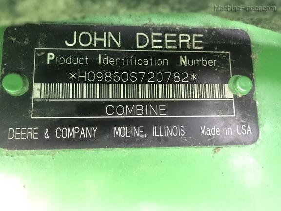 Photo of 2007 John Deere 9860 STS