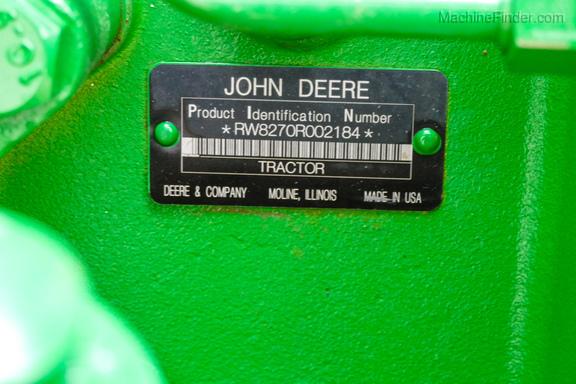 2010 John Deere 8270R-35