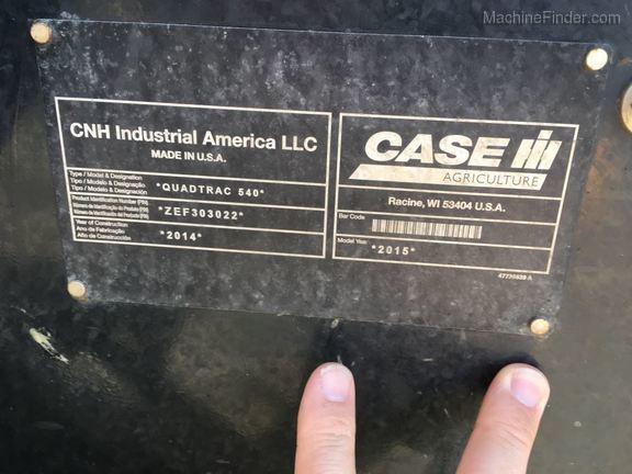 Case IH 540 QUAD