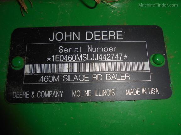 2018 John Deere 460M - Round Balers - Pound, WI