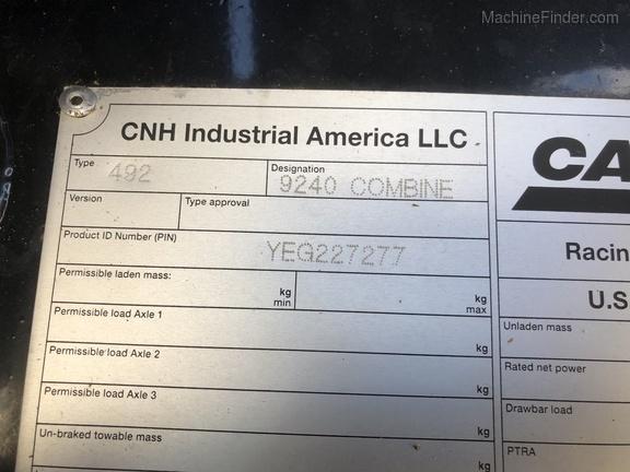 Photo of 2015 Case IH 9240