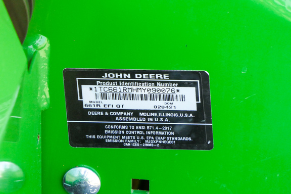 2021 John Deere 661R-14