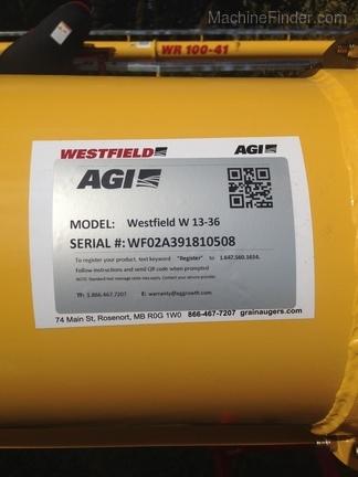 Green Line Equipment - Westfield 13X36 WFW130-36EMD 2018