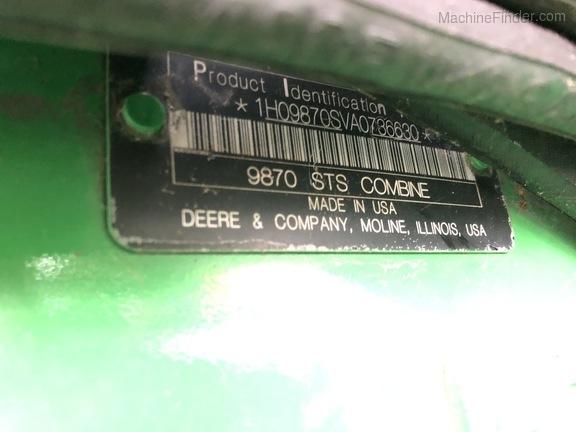 Photo of 2010 John Deere 9870 STS