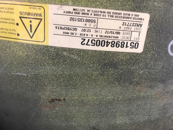 John Deere AH227712 REAR WHEEL