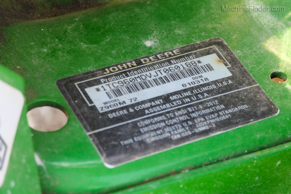 2018 John Deere Z960M-13