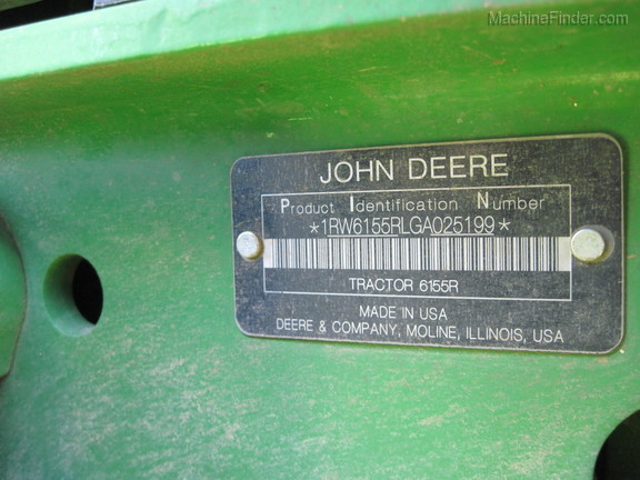 2016 John Deere 6155R