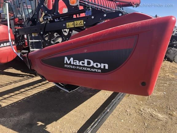 2018 MacDon FD75-40 325668 | Used Combine Platforms for Sale